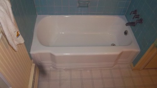 Bathtub After Refinishing