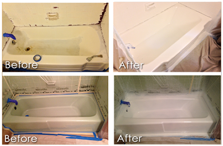Before and After Tubs 3 & 4